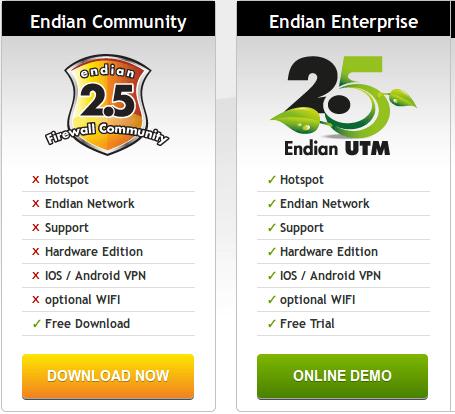 confronto versioni EFW