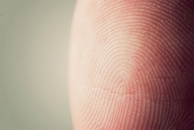 Photo by Bram Cymet - 38-365 Fingerprint