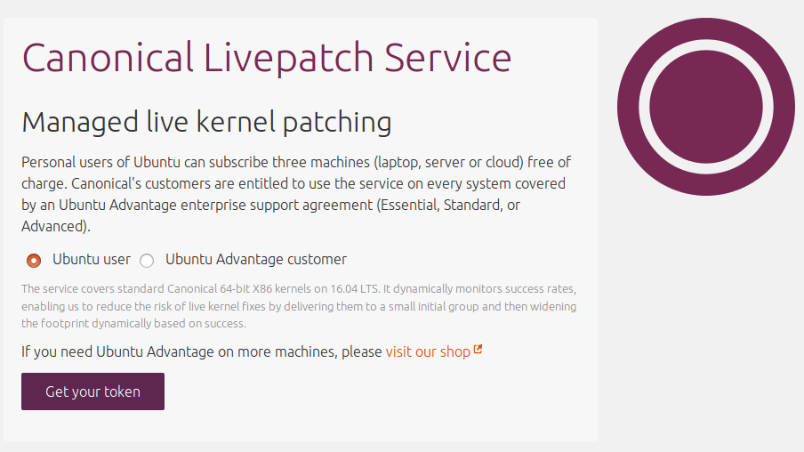 canonical-livepatch-tokenrequest